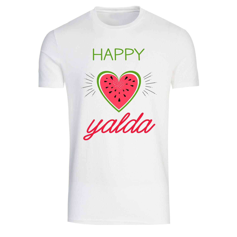 تی شرت زنانه طرح یلدا مبارک کد H3