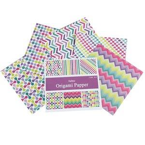 کاغذ اوریگامی مدل رنگین کمان کد R15