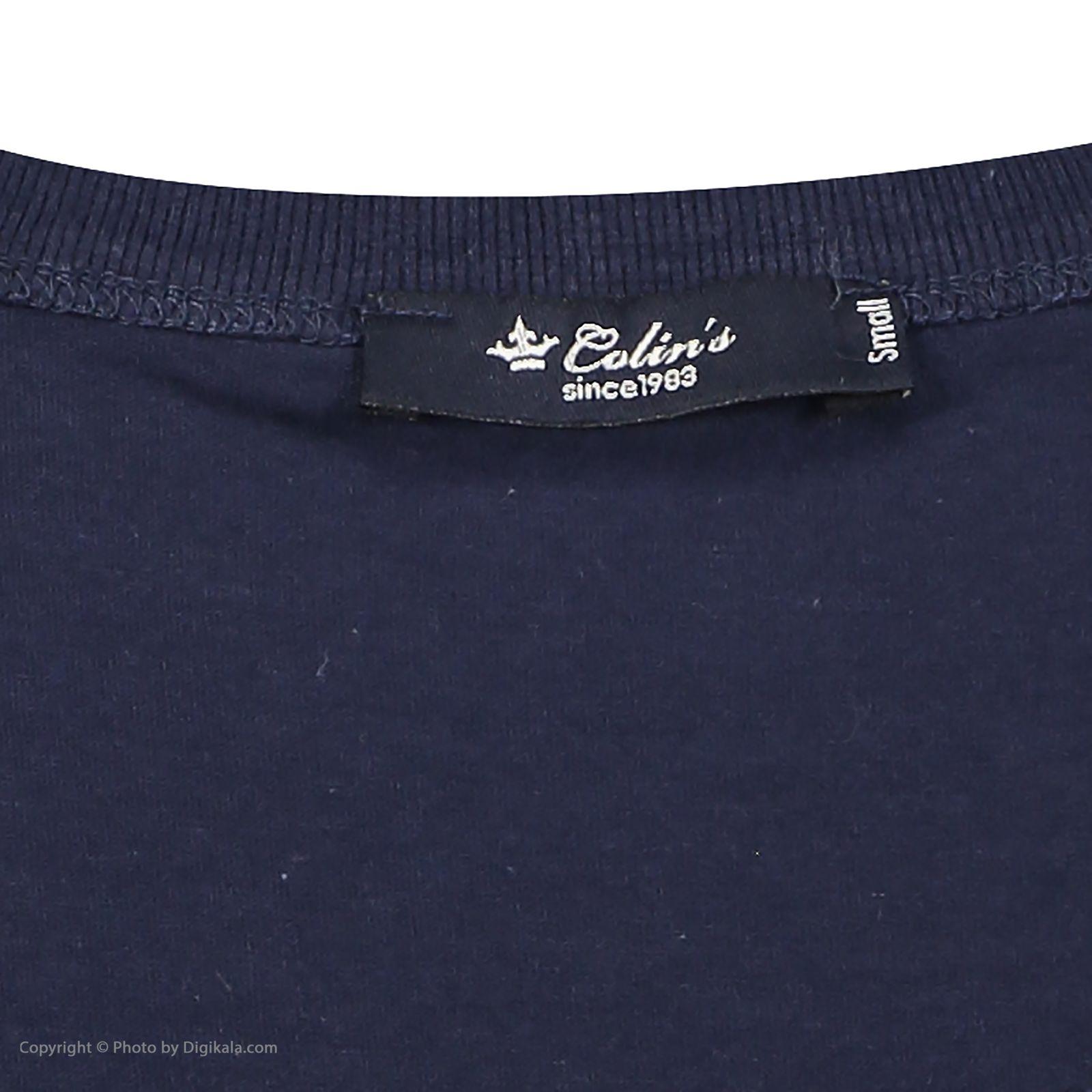 تی شرت زنانه کالینز مدل CL1032829-NAV main 1 5