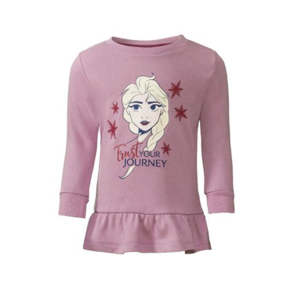 تی شرت آستین بلند دخترانه دیزنی مدل  Ti-Pi162N