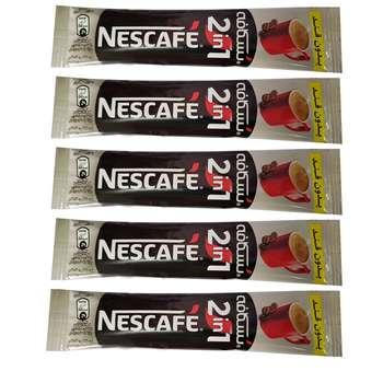 پودر قهوه فوری نسکافه بسته 5 عددی