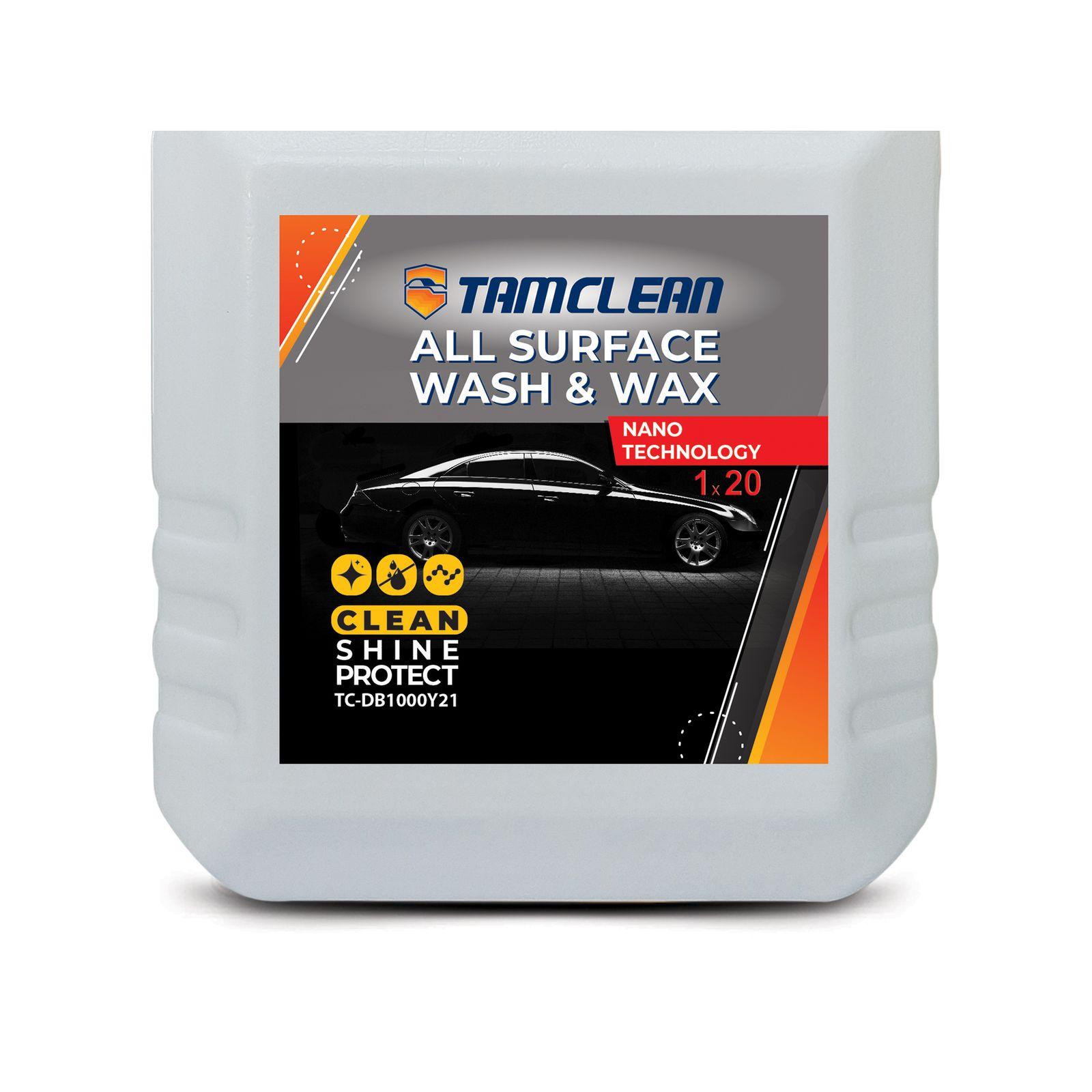 کنسانتره کارواش بدون آب تام کلین مدل TC-DB1000Y21 حجم 1 لیتر thumb 2 1