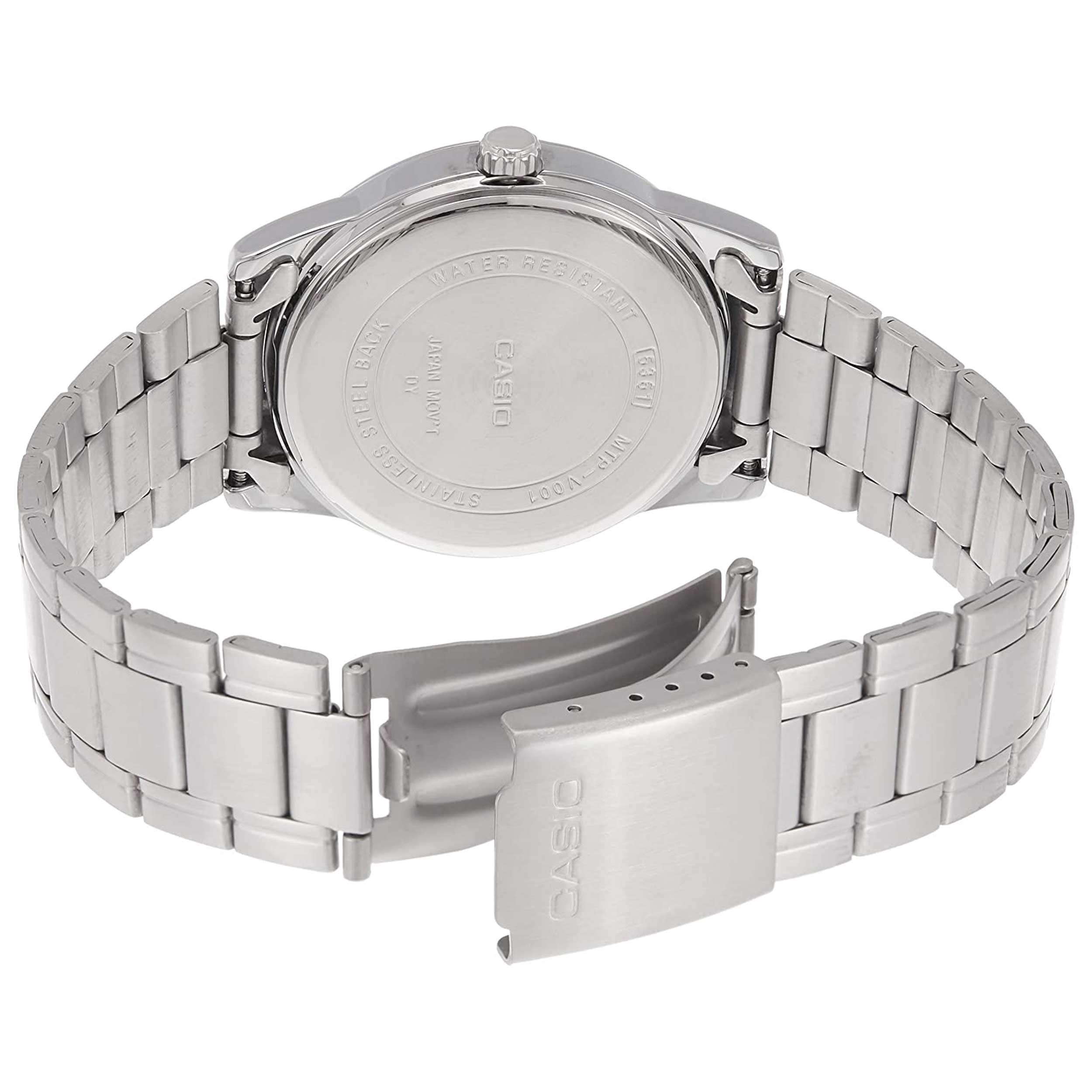 ساعت مچی عقربهای مردانه کاسیو مدل MTP-V001D-1BUDF