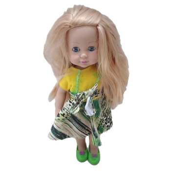 عروسک طرح دختر مدل 258b ارتفاع 34 سانتی متر