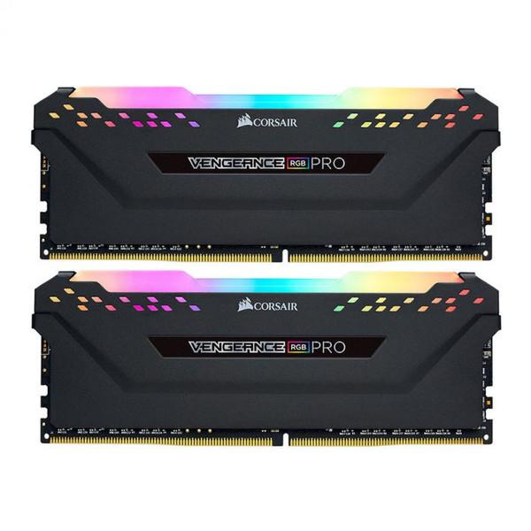 رم دسکتاپ DDR4 دو کاناله 3200 مگاهرتز CL16 کورسیر مدل VENGEANCE RGB PRO ظرفیت 16 گیگابایت