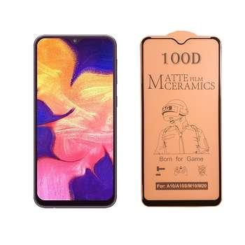 محافظ صفحه نمایش سرامیکی مدل FLCRM01st مناسب برای گوشی موبایل سامسونگ Galaxy A10