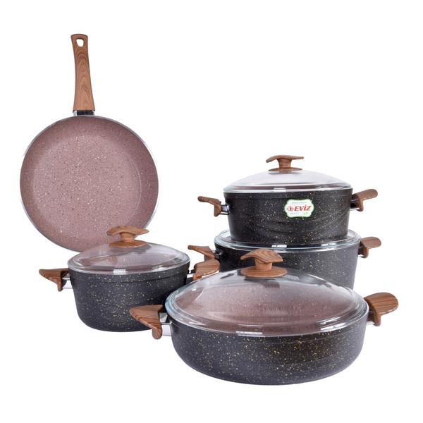 سرویس پخت و پز 9 پارچه اویز مدل Sw9