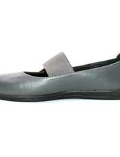کفش روزمره زنانه آر اند دبلیو مدل 982 رنگ طوسی -  - 2