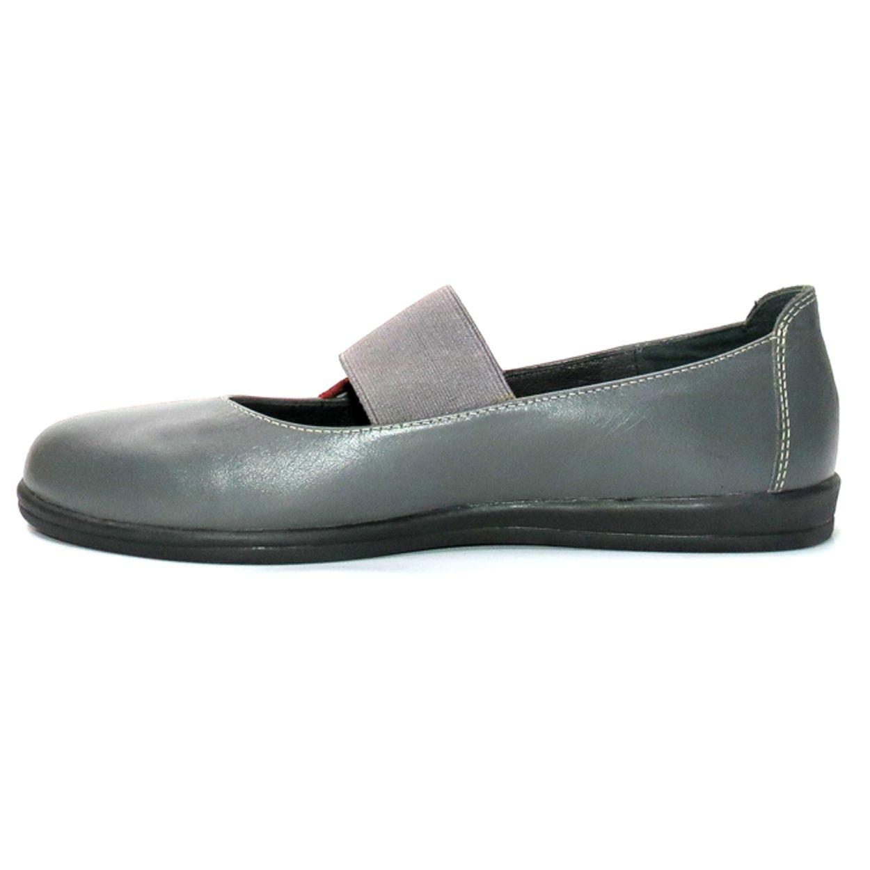 کفش روزمره زنانه آر اند دبلیو مدل 982 رنگ طوسی -  - 3