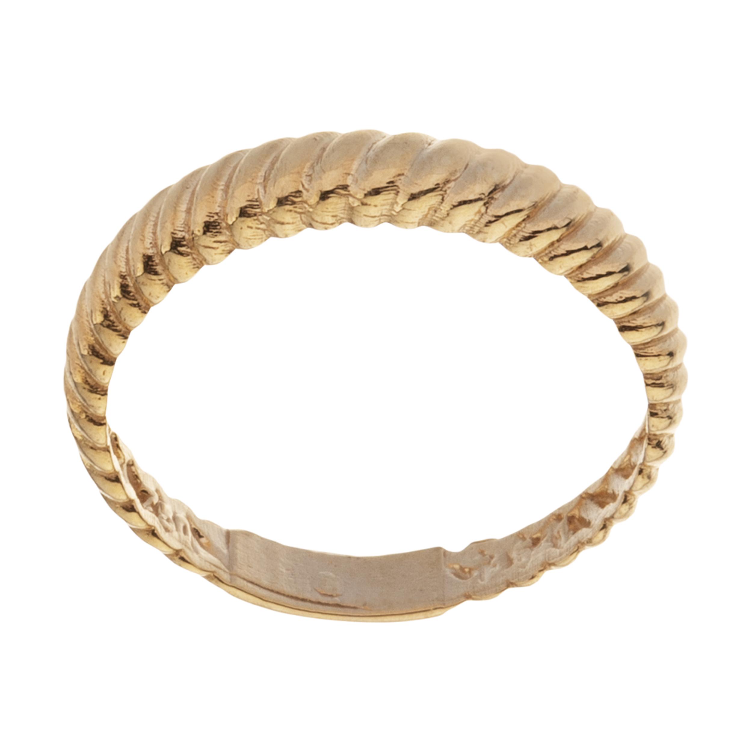 انگشتر طلا 18 عیار زنانه میو گلد مدل GD1085-56