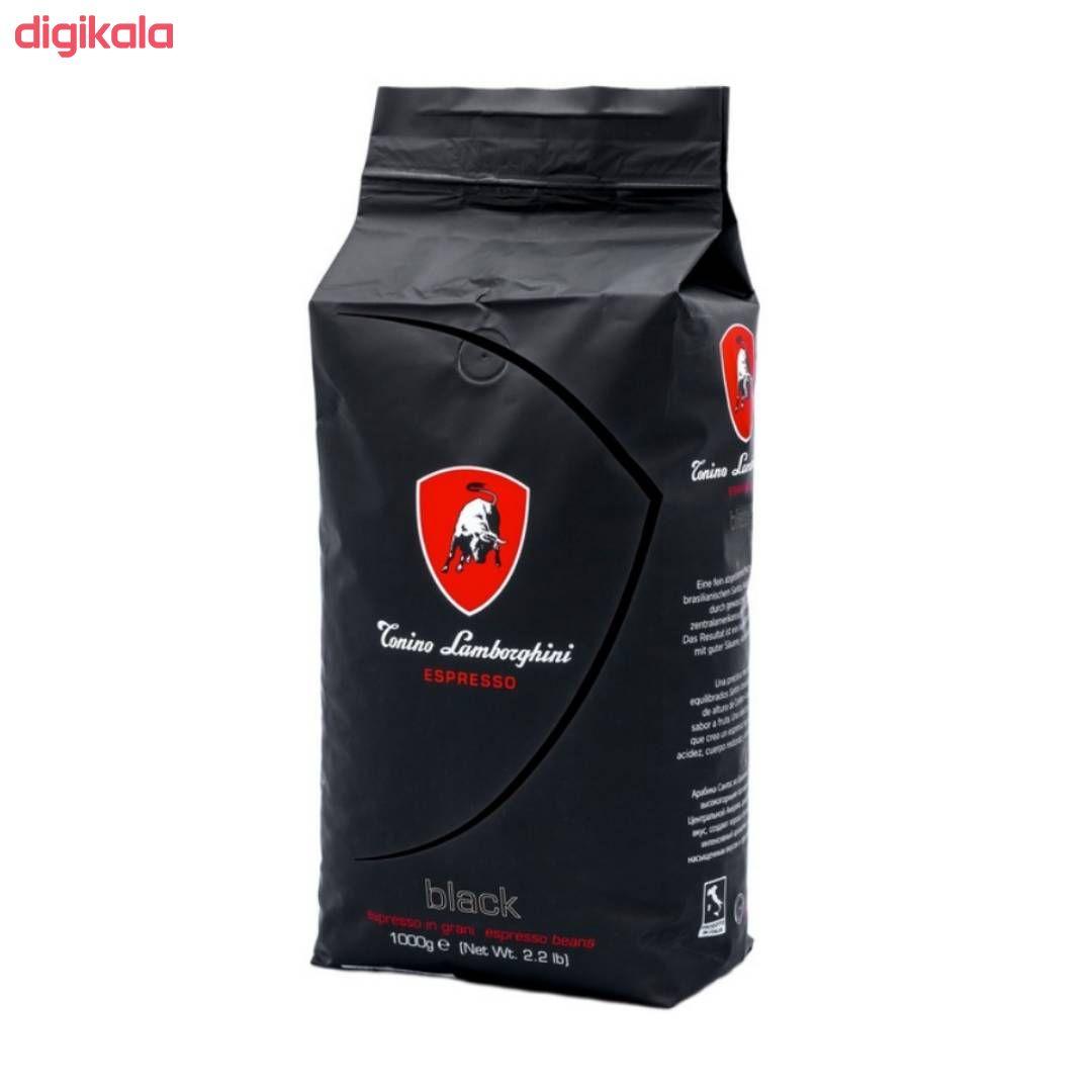 خرید اینترنتی با تخفیف ویژه دانه قهوه بِلک تونینو لامبورگینی - ۱ کیلوگرم