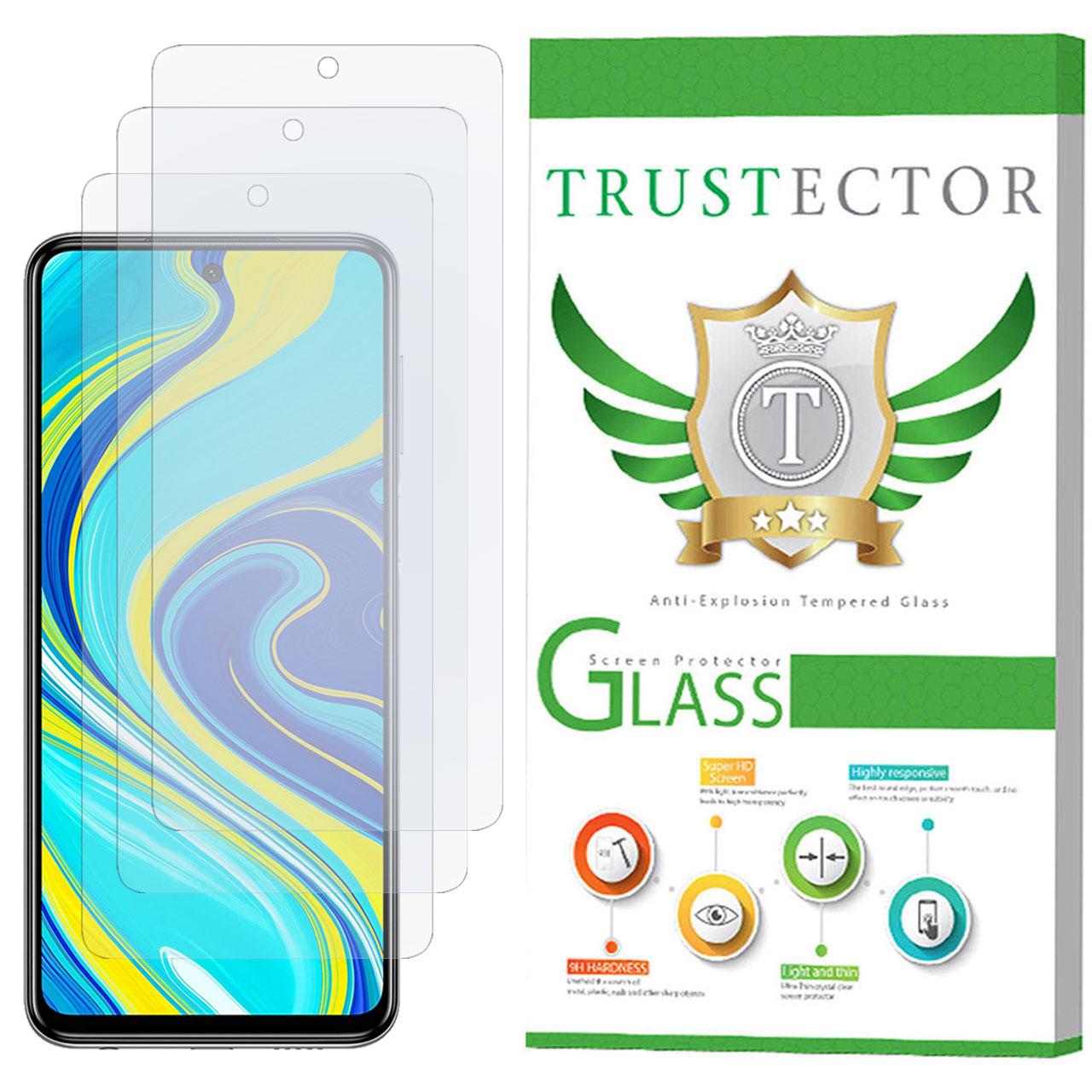 محافظ صفحه نمایش نانو تراستکتور مدل GNF مناسب برای گوشی موبایل شیائومی Redmi Note 9S بسته 3 عددی               ( قیمت و خرید)