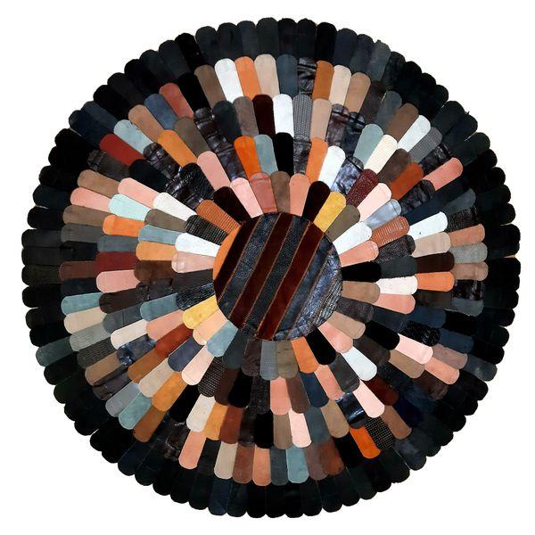 کلاژ فرش چرم و پوست کد 2011