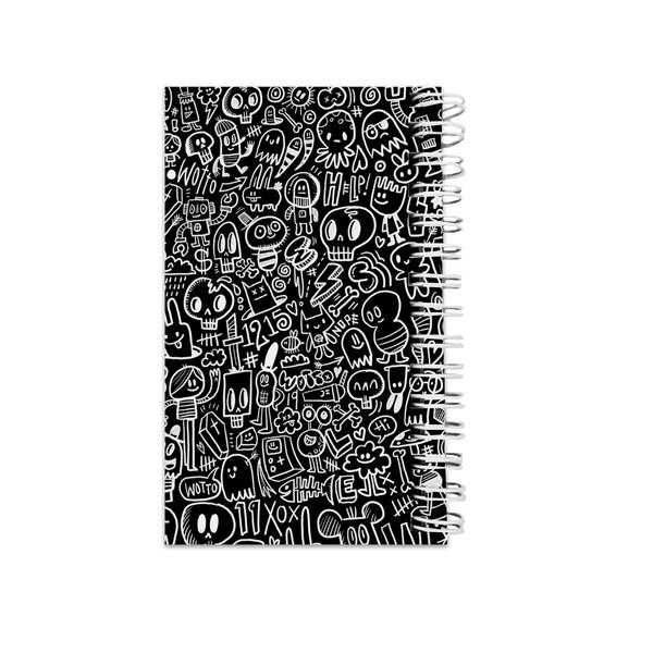 دفترچه یادداشت مدل to do list طرح نقاشی دیواری فانتزی کد53067