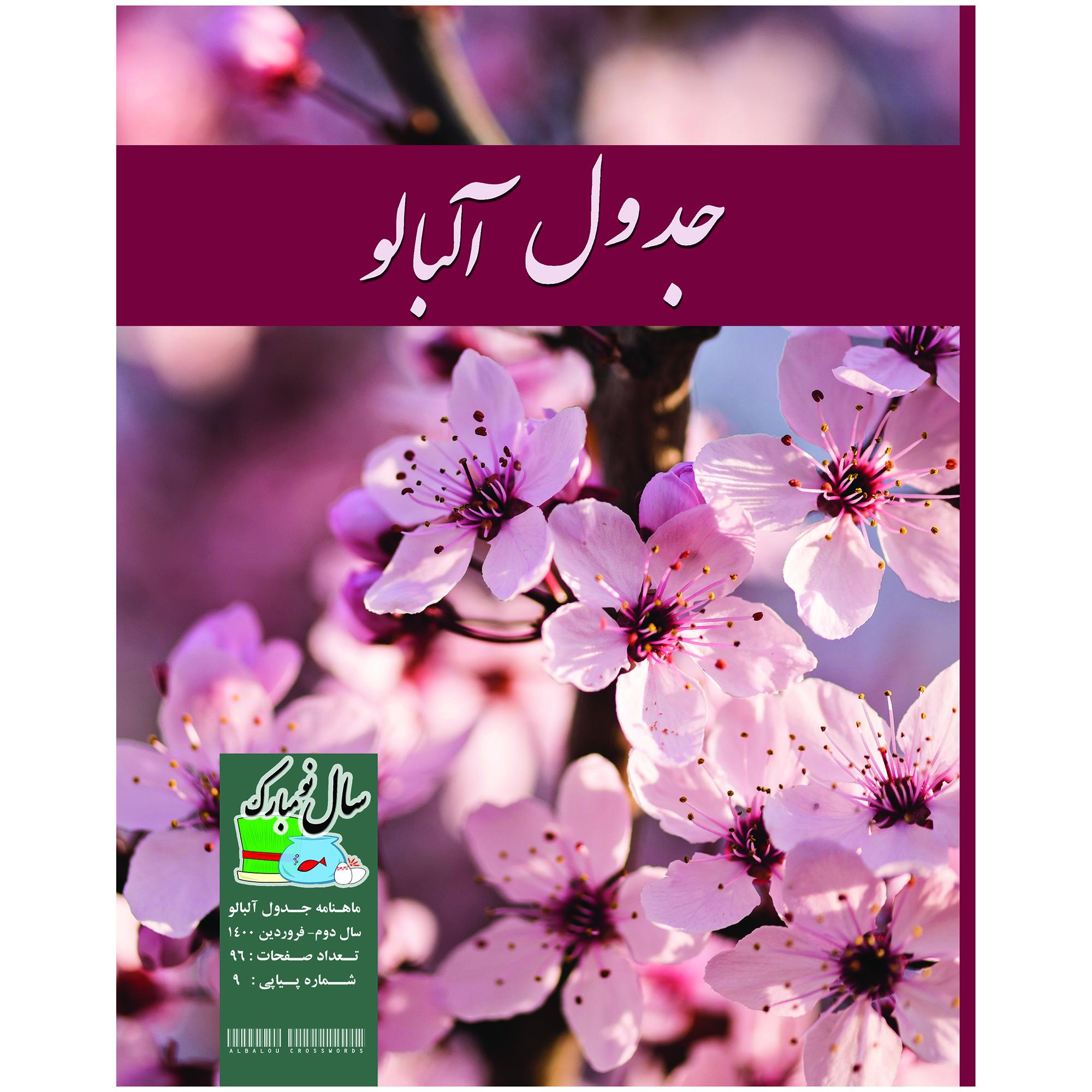 ماهنامه جدول و سرگرمی آلبالو شماره 9