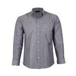 پیراهن آستین بلند مردانه ناوالس مدل NOx8020-GY thumb