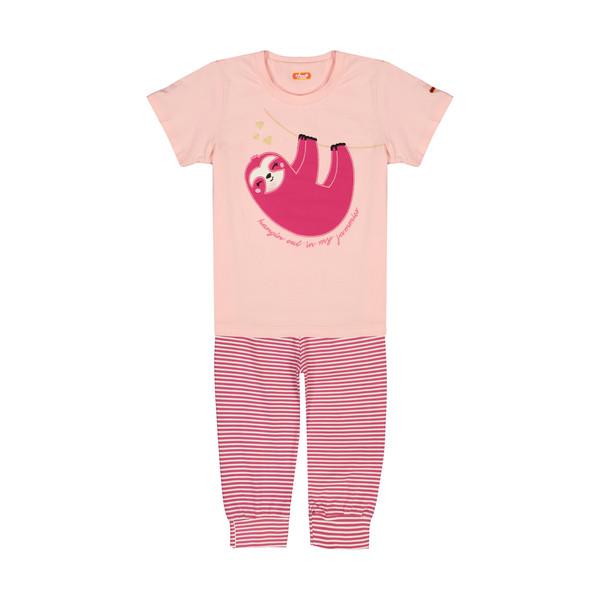 ست تی شرت و شلوار دخترانه مادر مدل 406-84