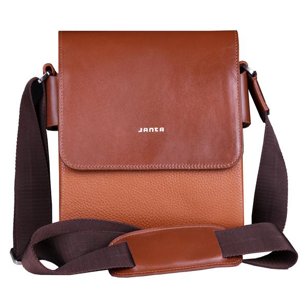 کیف دوشی چرم جانتا مدل 012