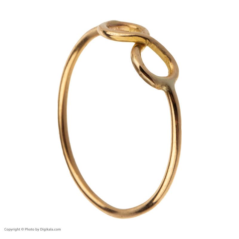 انگشتر طلا 18 عیار زنانه مایا ماهک مدل MR0368