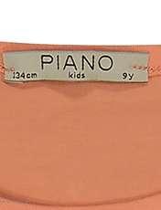 تی شرت دخترانه پیانو مدل 1836-23 -  - 5