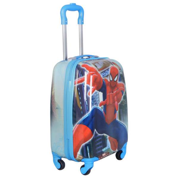 چمدان کودک طرح مرد عنکبوتی کد 036