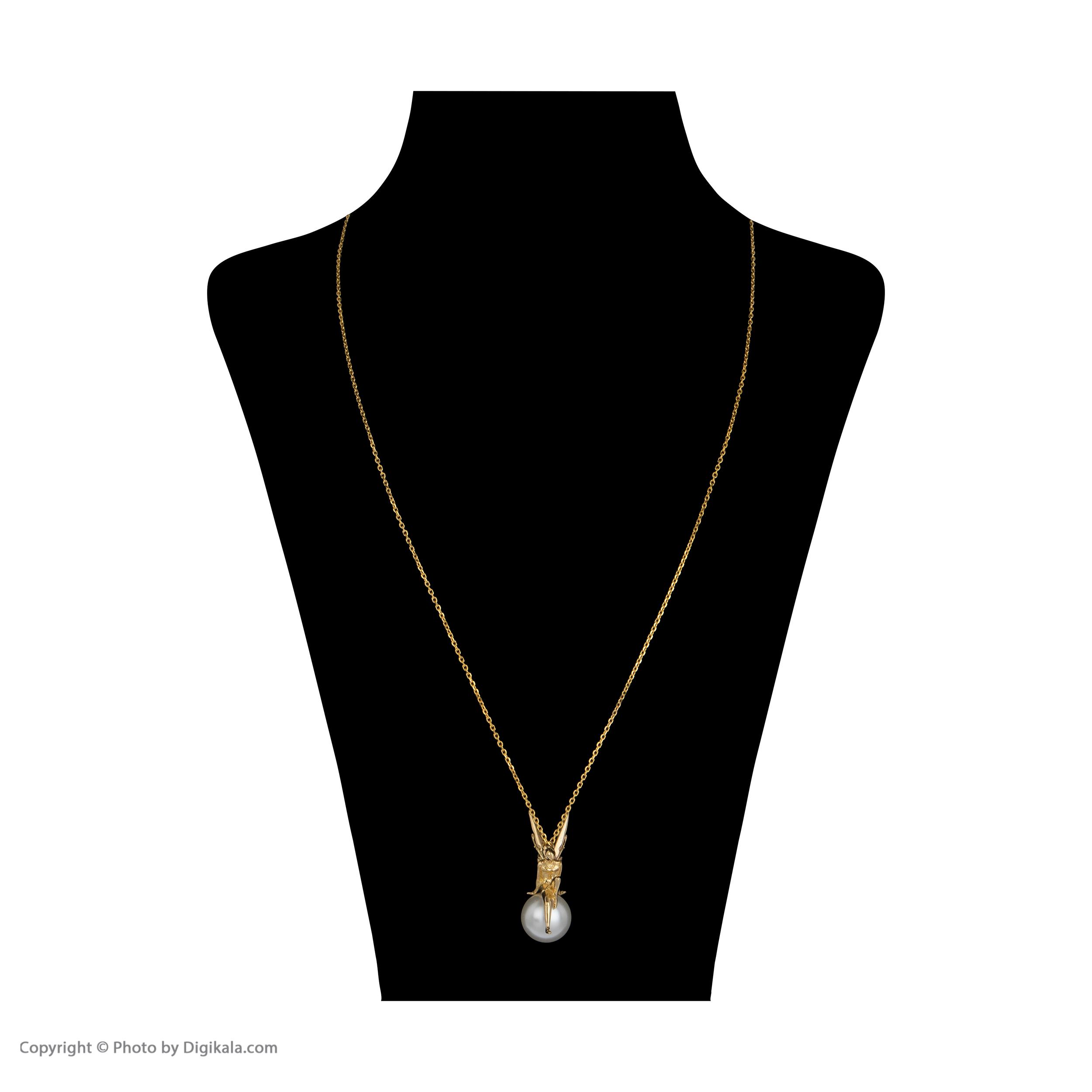 گردنبند طلا 18 عیار زنانه سیودو مدل 119559 -  - 3