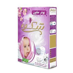 پودر صابون لباسشویی کودک شکوه مدل 01 مقدار 400 گرم
