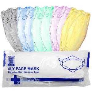 ماسک تنفسی دیباطب مدل رنگین کمان بسته 10 عددی