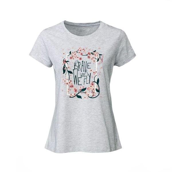 تی شرت آستین کوتاه زنانه اسمارا مدل 4957615