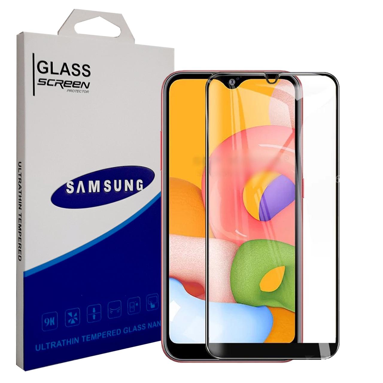 خرید                       محافظ صفحه نمایش سامسونگ مدل YGA100 مناسب برای گوشی موبایل سامسونگ Galaxy A01
