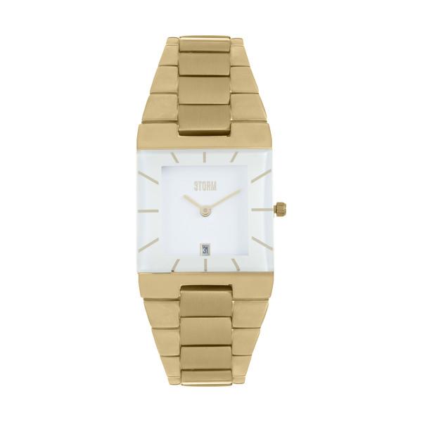 ساعت مچی عقربه ای زنانه استورم مدل ST 47194-GD