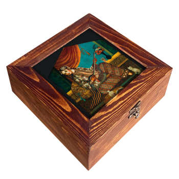 جعبه هدیه چوبی مدل CG07