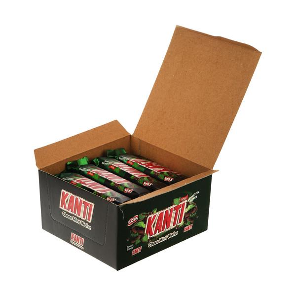 ویفر کاراملی کانتی کوپا با طعم نعنا - 37 گرم بسته 30 عددی
