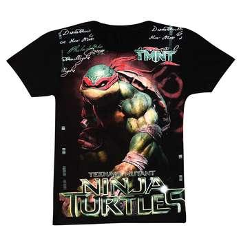 تی شرت پسرانه طرح لاک پشت نینجا رافائل کد 41