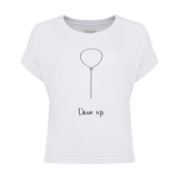 تی شرت  ورزشی زنانه پانیل مدل 180W