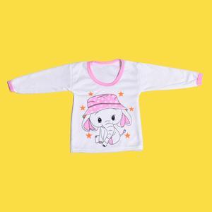 تی شرت آستین بلند نوزادی دخترانه مدل فیل