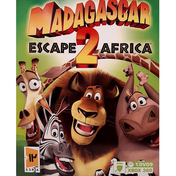 بازی MADAGASCAR 2 مخصوص Xbox 360