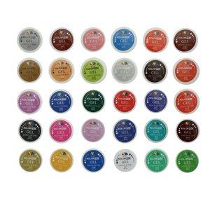 لاک ژل ناخن مدل Kolor Pro بسته 30 عددی