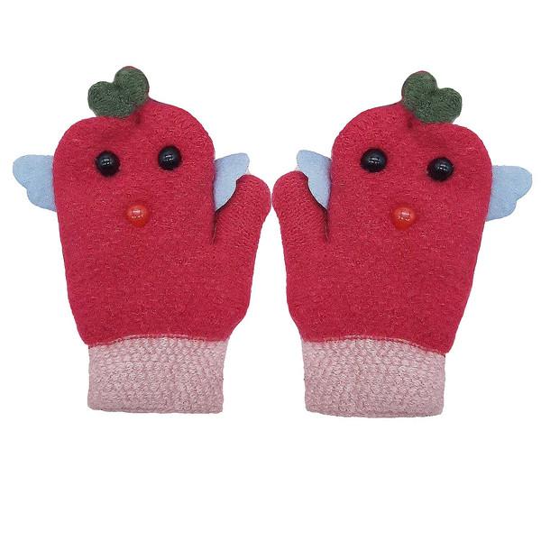 دستکش بافتنی بچگانه کد P001
