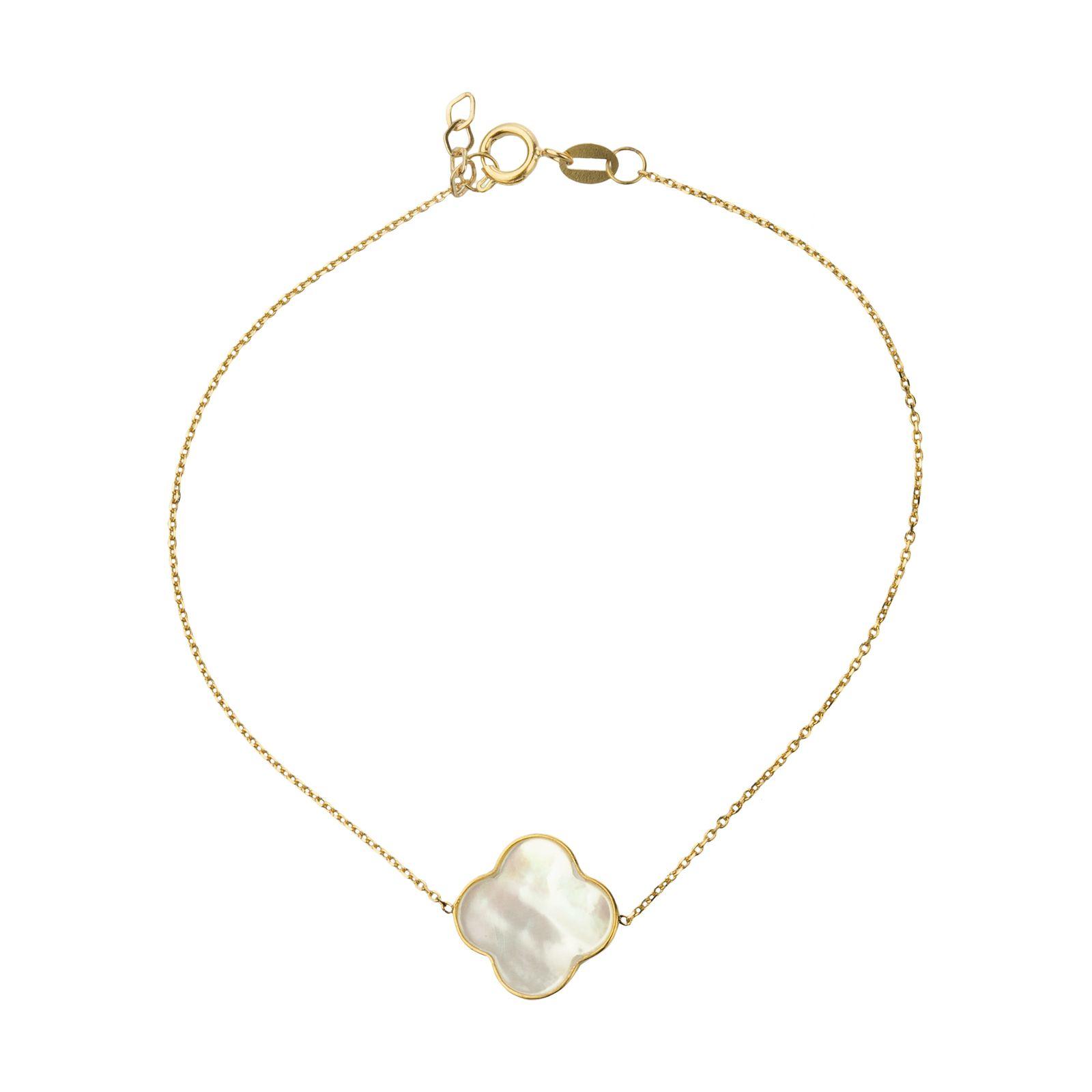 دستبند طلا 18 عیار زنانه میو گلد مدل GD627 -  - 2