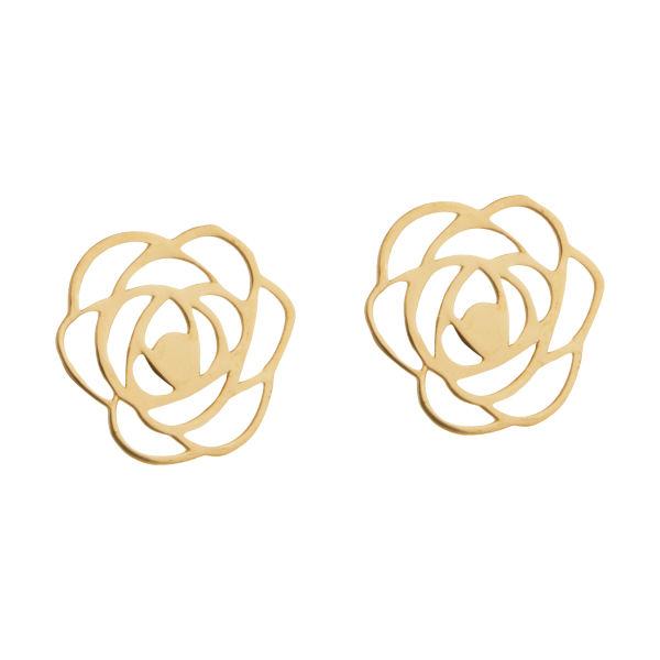 گوشواره طلا 18 عیار زنانه کانیار گالری کد GOA37