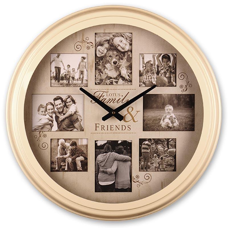 ساعت دیواری لوتوس مدل 1700