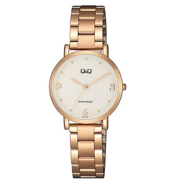 ساعت مچی عقربه ای زنانه کیو اند کیو مدل qa21j024y