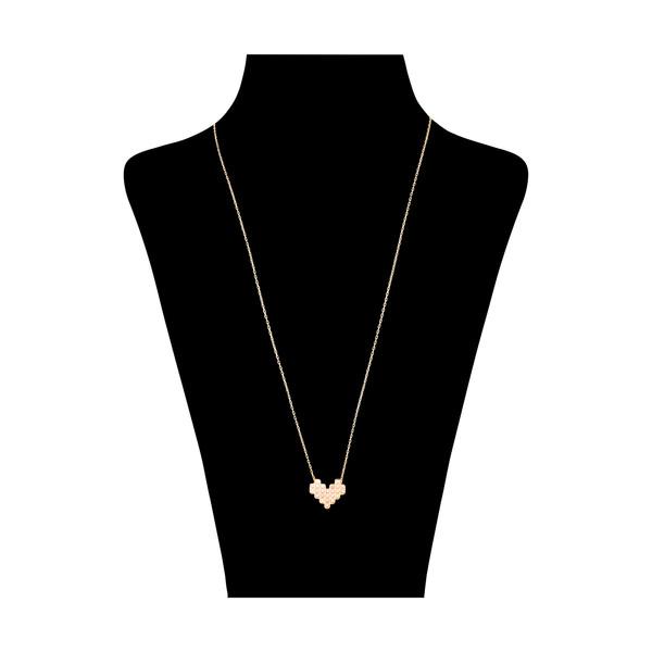 گردنبند طلا 18 عیار زنانه مدیسا مدل N7022