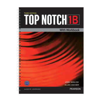 کتاب Top Notch 1B اثر Joan Saslow and Allen Ascher انتشارات Pearson