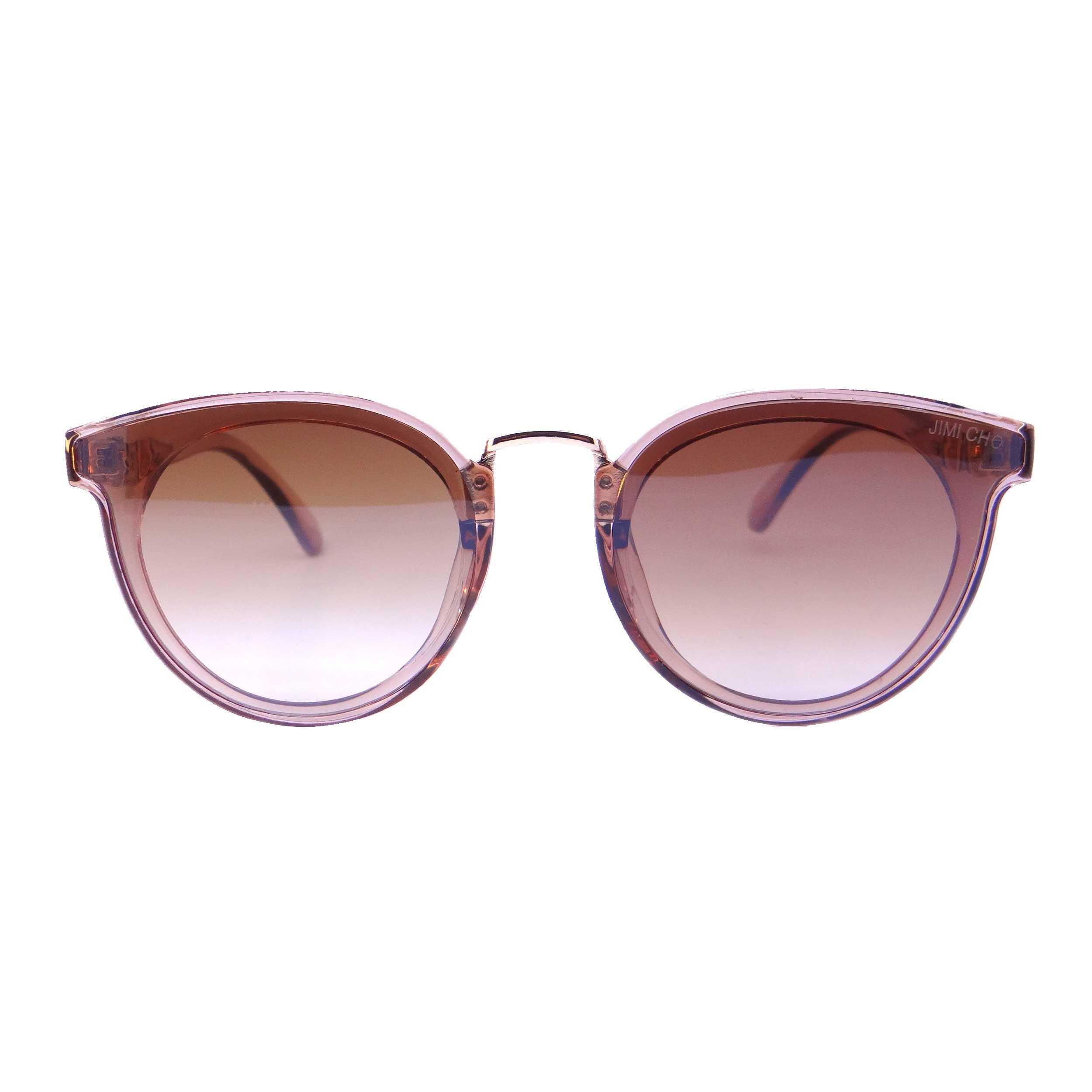 عینک آفتابی زنانه جیمی چو مدل 9933 رنگ قهوه ای روشن