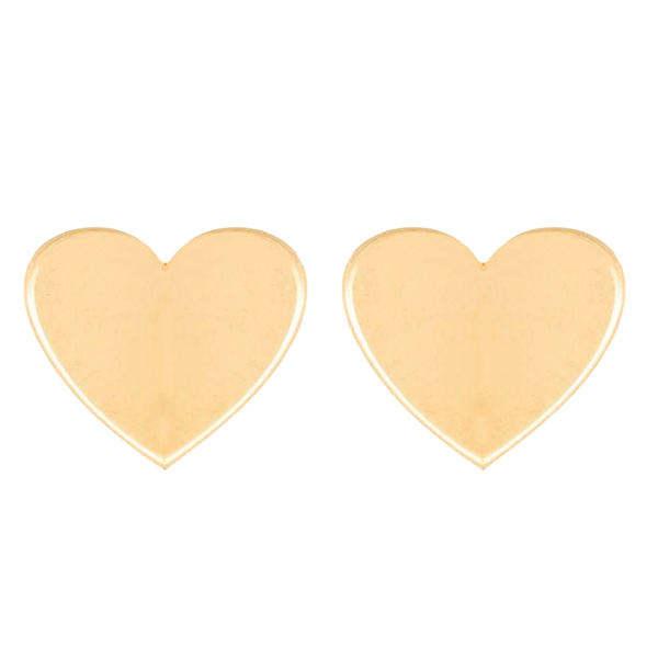گوشواره زنانه طرح قلب کد E0001