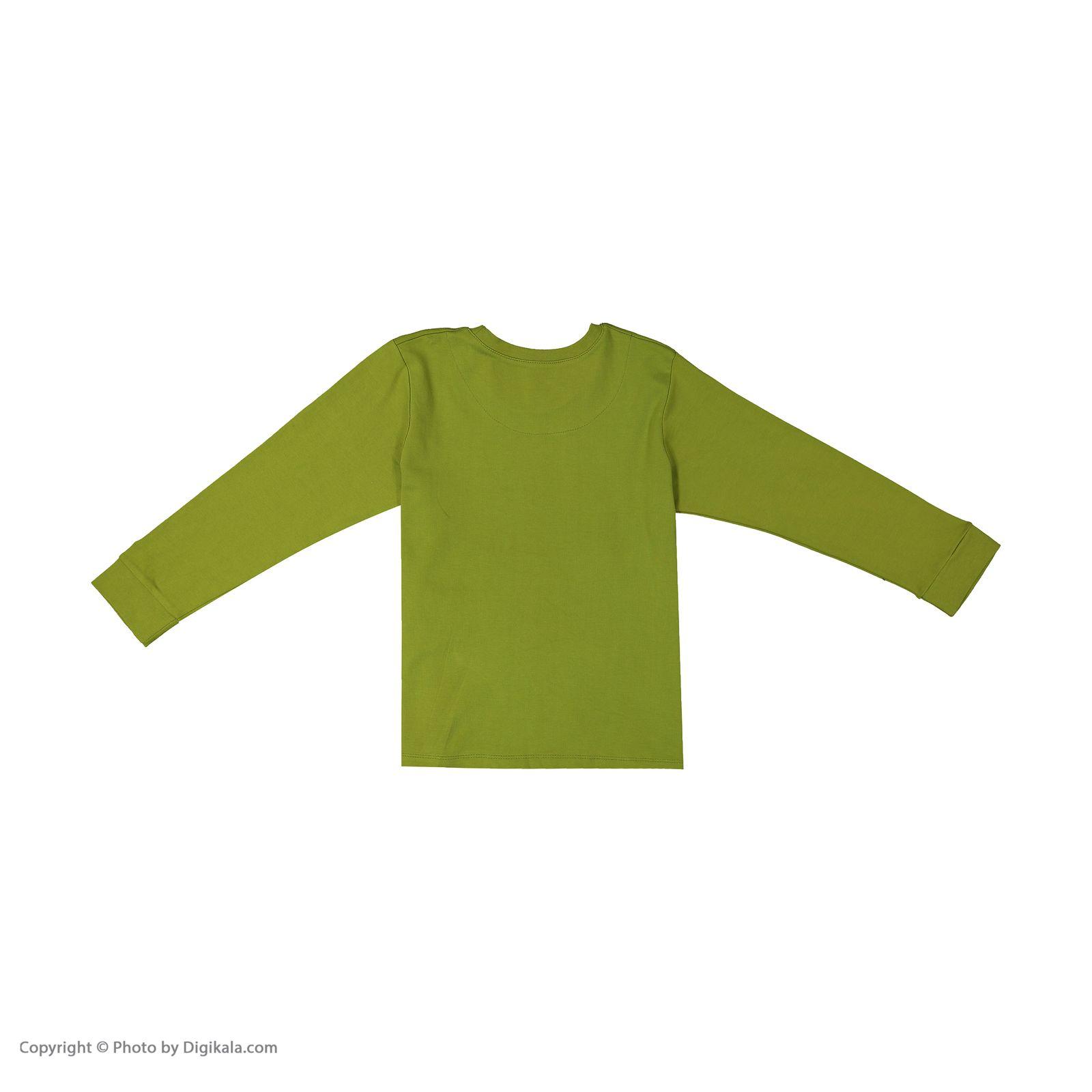 ست تی شرت و شلوار پسرانه مادر مدل 307-42 main 1 9