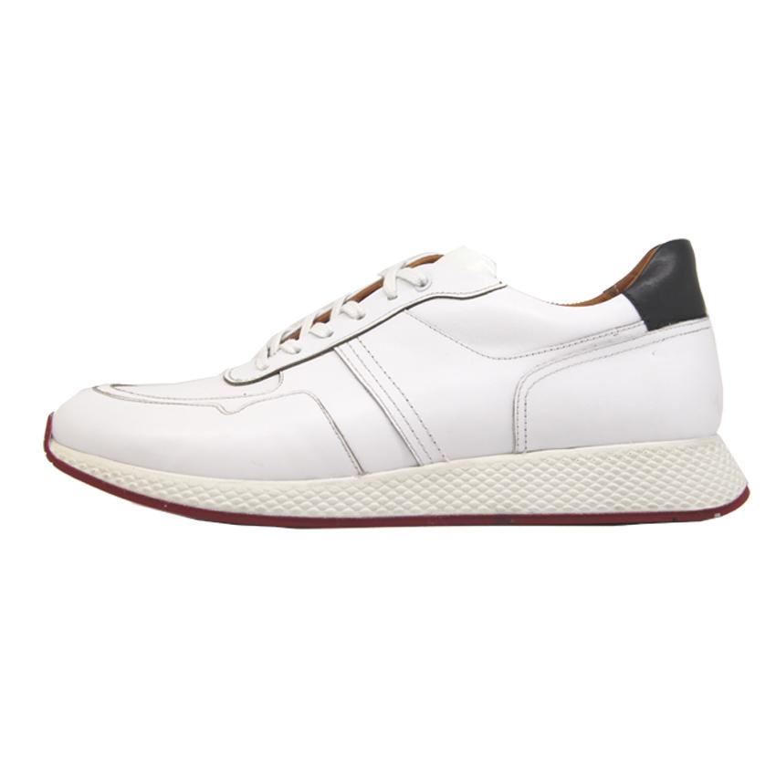 کفش روزمره مردانه چرم آرا مدل sh041 کد se