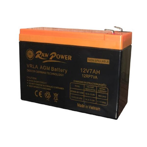 باتری یو پی اس 12 ولت 7 آمپر ساعت راو پاور مدل 12RP7VA